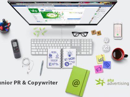 Junior PR & Copywriter @ Atu Advertising