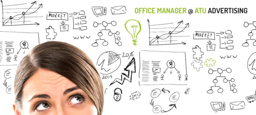 office manager atu advertising