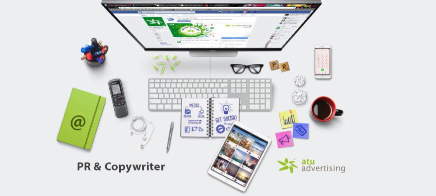 PR Copywriter Atu Advertising